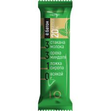 """Батончик """"Ёбатон"""" со вкусом миндаля в шоколадной глазури, 50г"""