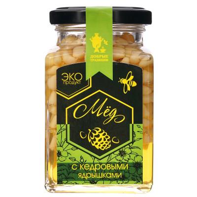 GT Кедровые орешки в меду, 300г