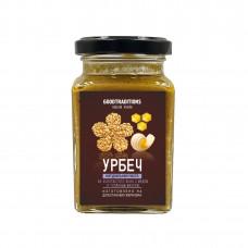 Урбеч из золотистого льна с медом и топленым маслом, 260мл
