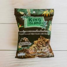 ТАЙ Кокосовые чипсы KING ISLAND с шоколадом, 40г