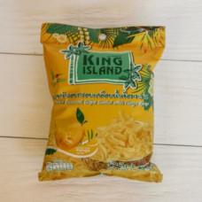 ТАЙ Кокосовые чипсы KING ISLAND со вкусом манго, 40г