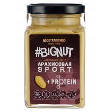 """Арахисовая паста """"Спорт"""" с протеином, стекло, 240г"""