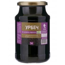 Урбеч из кунжута черного, стекло, 1кг